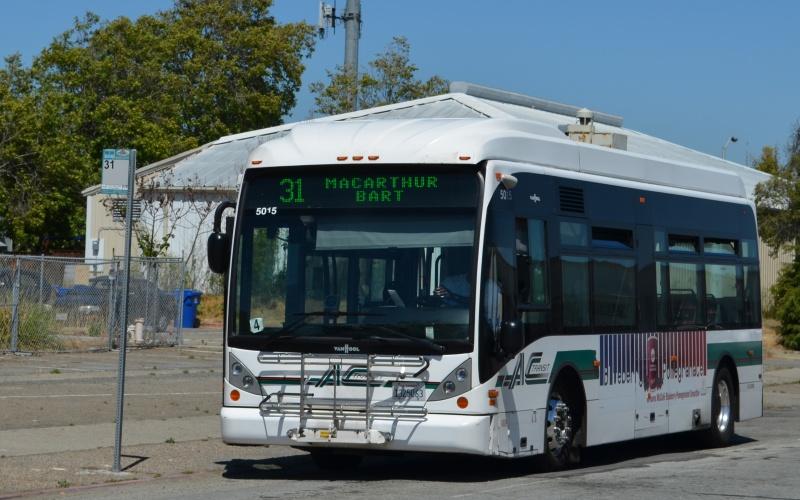 AC Transit Line 96 Terminal