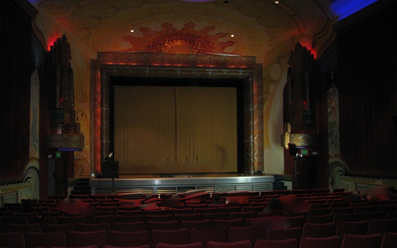 Art deco Alameda Point Theater