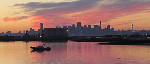 Alameda Point at Sunset