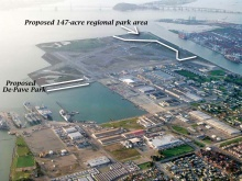 Alameda Point regional park and De-Pave Park
