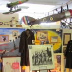 Naval Air Museum display