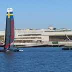 Artemis Racing at Seaplane Lagoon - Alameda Point
