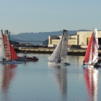 Sailing Club at Alameda Point's Seaplane Lagoon