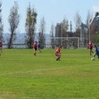 Soccer field at Enterprise Park near USS Hornet - Alameda Point