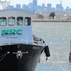 NRC boat at Alameda Point