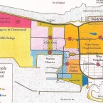 1996 Community Reuse Plan map - Alameda Point