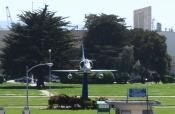 A-4 Skyhawk at Main Gate - Alameda Point