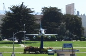 A-4 Skyhawk at Main Gate - Alameda Point