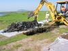 Site 2 - Photo #20 - Trenching in western portion of Wildlife Refuge.   (Navy contractor Battelle photo)