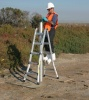 Site 2 - Photo #4 - Taking soil core sample.  (Navy contractor Battelle photo)