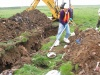 Site 2 - Photo #19 - Trenching in western portion of Wildlife Refuge.   (Navy contractor Battelle photo)