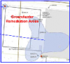 Site 6 - Groundwater remediation map